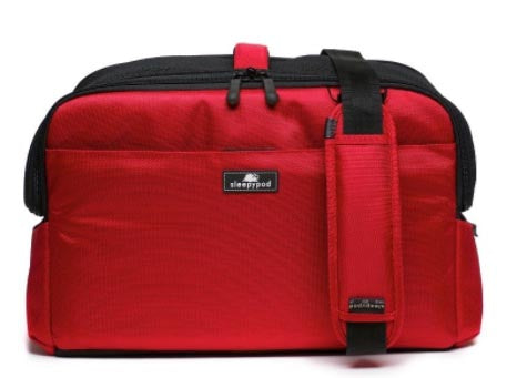 Sleepypod Atom At-red Metro Pet Carrier (strawberry Red) ...