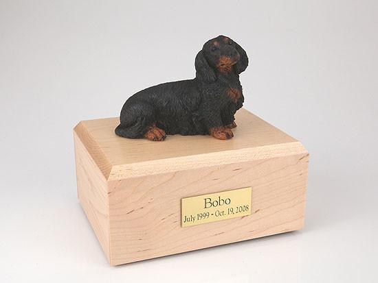 Forever Pets Dachshund, Long-haired Black Tr200-078 Figur...