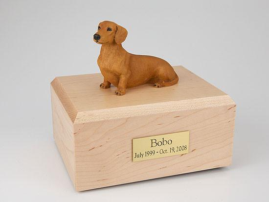 Forever Pets Dachshund, Red/brown Tr200-075 Figurine Urn