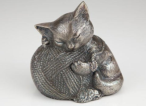 Precious Kitty PK-100S Silver Urn - Peazz Pet