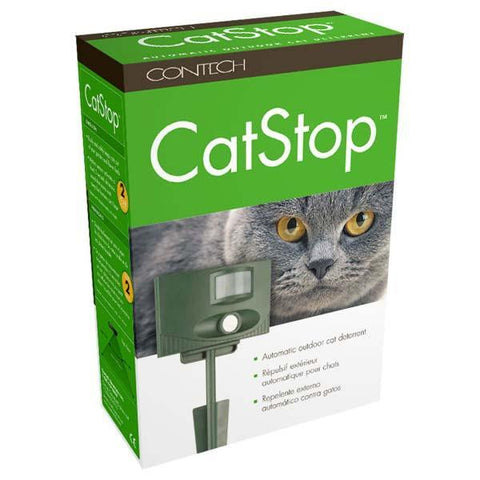 Contech CAT002 Catstop Automatic Outdoor Cat Repellent - Peazz.com