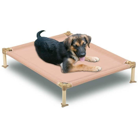"Hugs Pet Products HUG-09302 Cool Cot Medium Metal 33"" X 25"" X 6"" - Peazz.com"