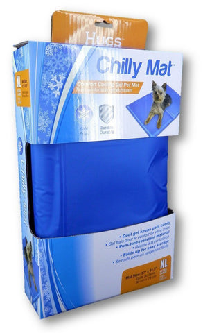 "Chilly Mat Extra Large Blue 38"" x 32"" x 0.5"" - Peazz.com"