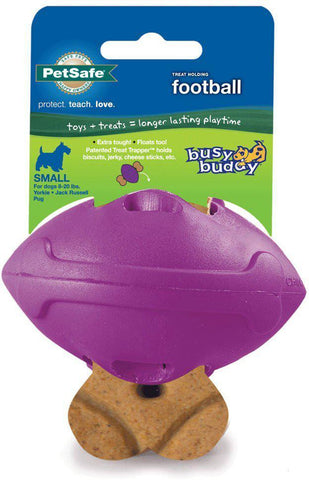 Premier BB-FTBL-PUR-S Busy Buddy Football - Peazz.com