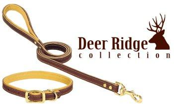 Deer Ridge Leather Leash 3/4 In x 6 Ft (06-5657-6) - Peazz Pet