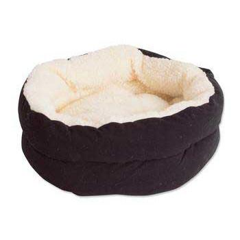 "Puffy Kitty Nest Assorted Solids 15"" - Peazz Pet"