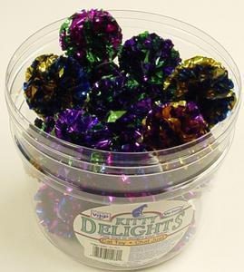 "Mylar Balls 2"" 24pcs Per Jar - Peazz Pet"