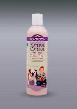Natural Oatmeal Soothing Creme Rinse 12oz - Peazz Pet