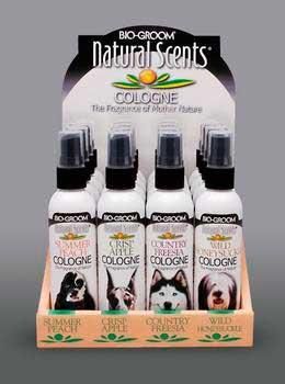 Natural Scents Cologne Display 16pc - Peazz Pet