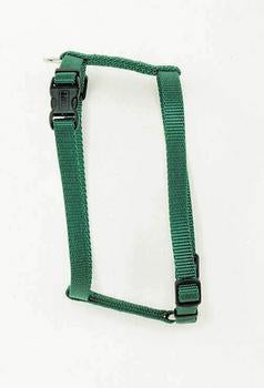 "C Nyl Adjustable Harness 3/8"" Xs - hunter - Peazz Pet"