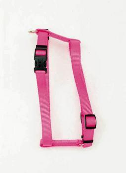 "C Nyl Adjustable Harness 5/8"" Small - hunter - Peazz Pet"
