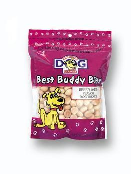 2 Quantity of Beef/liver Buddy Bits 5.5oz (44400) - Peazz Pet
