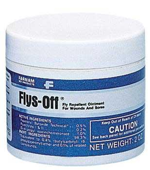 Flys - off Ointment Fly Repellent 2oz (2402) - Peazz Pet