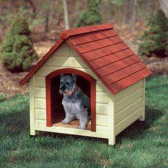Fp Premium Dog House Medium 30x35x32 - Peazz Pet
