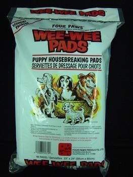 Wee Wee Pads 14pk (12pc) - Peazz Pet