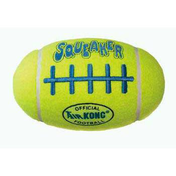 Air Kong Squeaker Football Large Asfb1 (ASFB1) - Peazz Pet