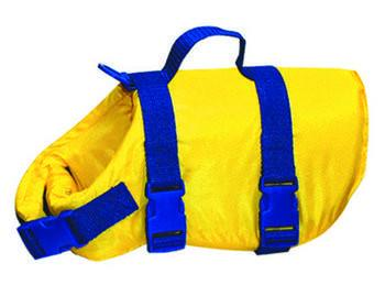 "Life Jacket - Jumbo (Dog Weight: Over 80 Lbs, Neck Size: 24"" & Up) - Peazz Pet"