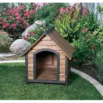 Prec Small Country Lodge Dog House 28x30x30 - Peazz Pet