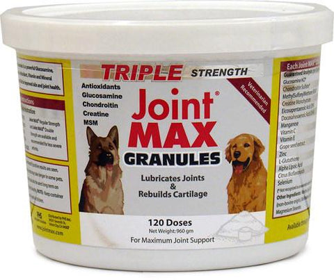 Joint Max TS HA Granules 120 Doses (960 Grams) - Peazz Pet