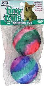 "Vinyl Ti - dyed Balls 2.5"" 2pk - Peazz Pet"
