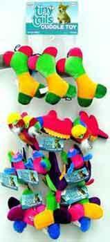 Tiny Tails Assorted Plush Toys 12pc Per Rope - Peazz Pet