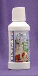 2 Quantity of Guinea Pig And Rabbit Vitasol 4oz (G402) - Peazz Pet