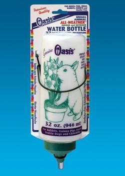 32oz Frosted Aw Rabbit Bottle - Peazz Pet