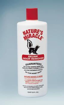 Nature's Miracle  Skunk Odor Remover 32oz (5123-12) - Peazz Pet