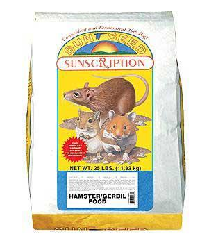 Hamster And Gerbil Economy Mix 25lb - Peazz Pet