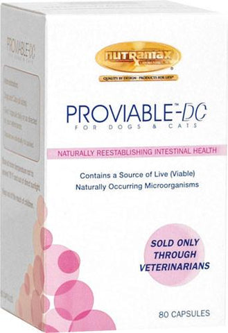 Proviable-DC for Dogs and Cats, 80 Capsules - Peazz Pet