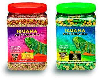 Juvenile Iguana Fruit & Flower Pellets 16oz - Peazz Pet