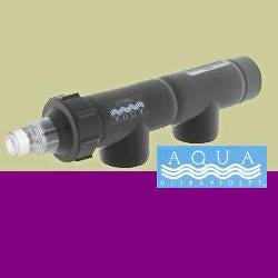 "25 Watt Uv Sterilizer 3/4"" Black 1200gph - Peazz Pet"