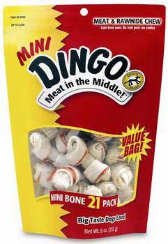 "Dingo Mini Bone 2.5"" 21pc Value Pack (95001) - Peazz Pet"