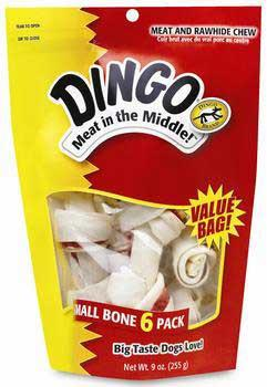"Dingo Bone Small 3.5"" 6pc Value Pack - Peazz Pet"