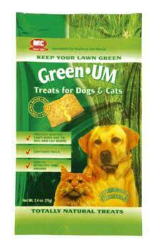2 Quantity of Green Um Treats For Dogs And Cats 2.4oz - Peazz Pet