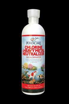 Pondcare Chlorine & Metal Neutralizer 16oz (141B) - Peazz Pet