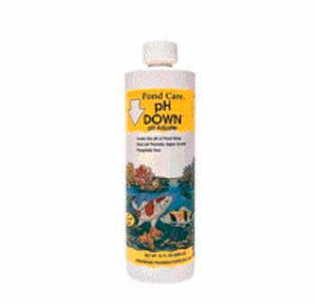 Pondcare Ph Down 16oz (170B) - Peazz Pet