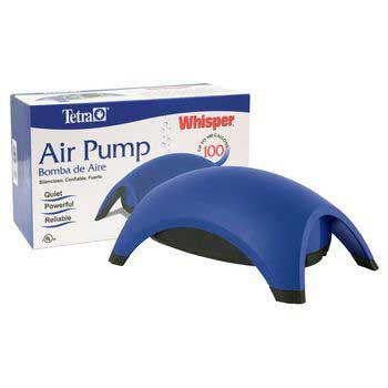 Whisper 100 Air Pump (new Design) (77855) - Peazz Pet