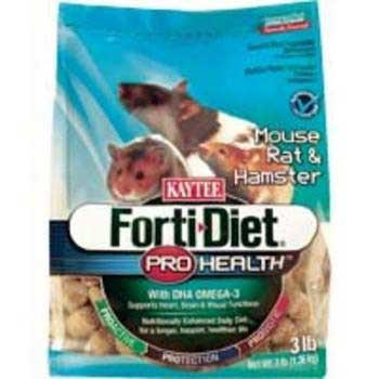 Kaytee Forti Diet Pro Health Mouse & Rat 3lb 6cs (100502085) - Peazz Pet