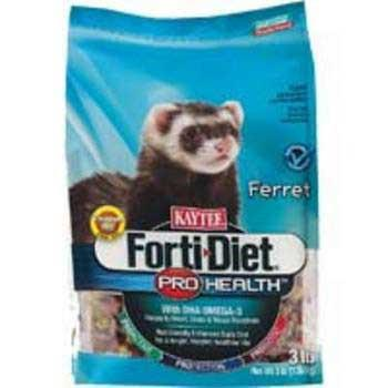 Kaytee Forti Diet Pro Health Ferret 3lb 6cs (100502090) - Peazz Pet