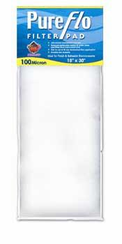 "Pureflo 100 Micron Filter Pad 30 X 18"" (1218) - Peazz Pet"