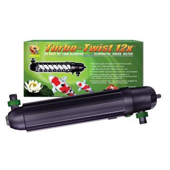 36 Watt Pond Turbo Twist 12x Uv Clarifier - Peazz Pet