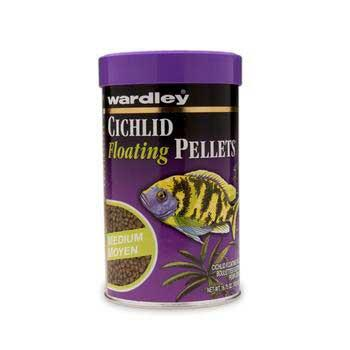 Cichlid 10 Pellets - Medium 17.75oz (632) -Peazz Pet