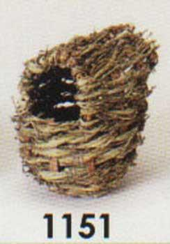 3 Quantity of Finch Covered Twig Nest - Peazz Pet