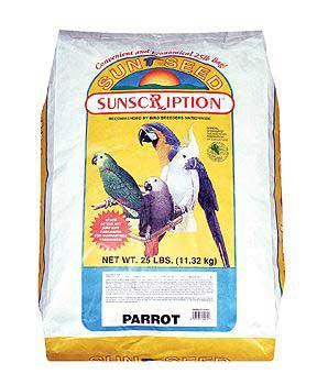 Sunseed Parrot Economy 25lb