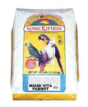 Parrot Miami Mix 25lb - Peazz Pet