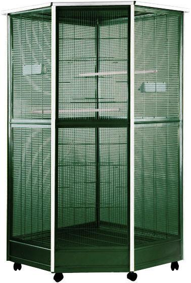 A&E Cage 100g-1 Large Corner Aviary 52 x42 x74