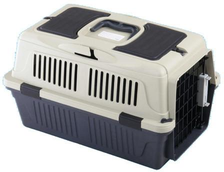 "A&E Cage CD-4 Red 25"" x 16 x 16"" - Case of 6 Deluxe Pet Carrier w/ storage compartment - Peazz Pet"