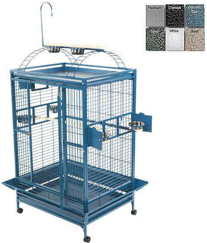 "A&E Cage 8004030 Platinum 40""x30"" Playtop Cage with 1"" Bar Spacing - Peazz Pet"