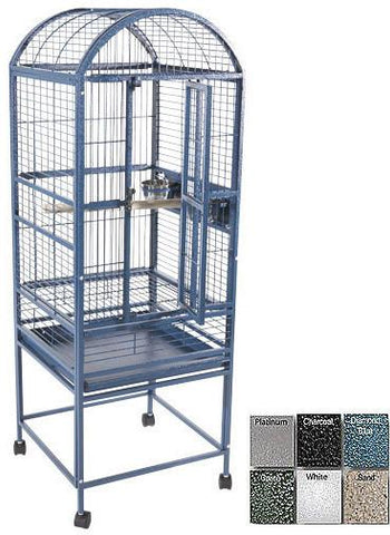 A&E Cage 9001818 Black Small Dome Top Bird Cage - Peazz Pet